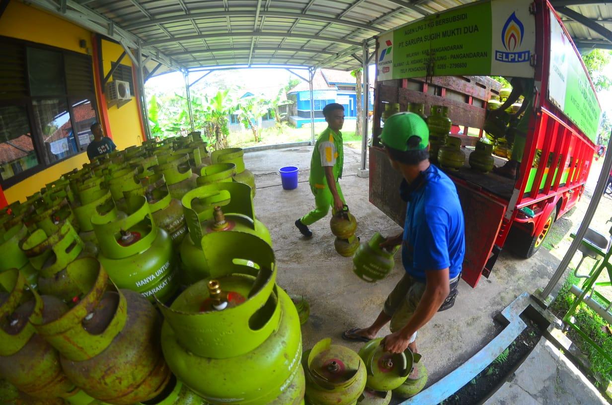 Gas, Gas Melon Langka di Pasaran, Pemda Pangandaran Gelar Operasi Pasar Serentak, SEPUTAR PANGANDARAN