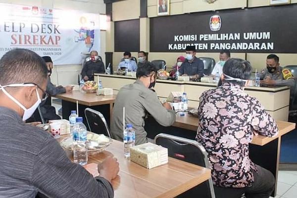 KPU, Besok, KPU Pangandaran Gelar Rapat Pleno Rekapitulasi Penghitungan Suara, SEPUTAR PANGANDARAN