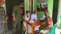 Koramil, Antisipasi Covid-19, Anggota TNI Koramil Padaherang Jalani Rapid Test, SEPUTAR PANGANDARAN