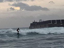 Pemprov Jabar Lanjutkan Pembangunan Breakwater di Pantai Pangandaran