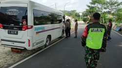 Situasi Terkini di Pos Penyekatan Jembatan Pancimas Kalipucang, Pangandaran