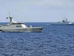 Kerahkan KRI Usman Harun dan Halasan, TNI AL Gelar Latihan dengan AL China di Perairan Laut Jawa